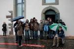 """Und das """"obligate"""" Gruppenfoto zum Abschluß des Besuchs in Haigerloch"""
