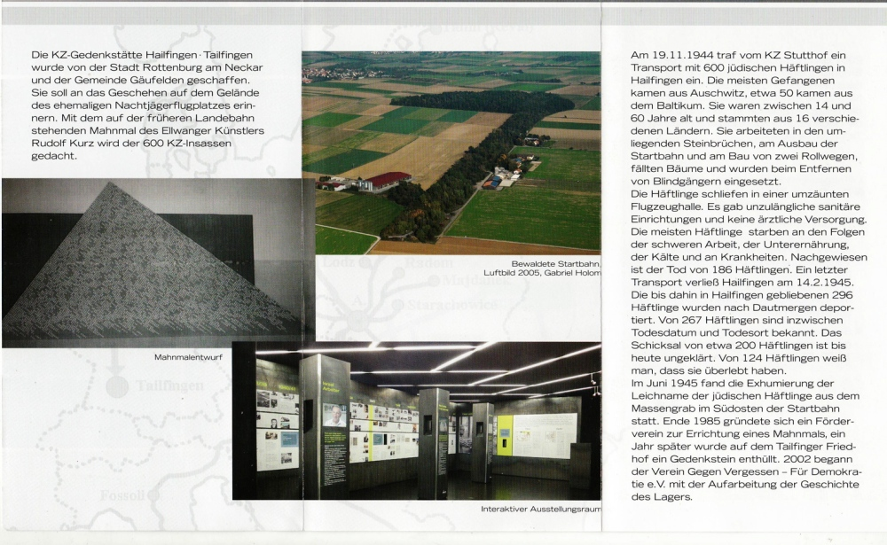 Eröffnung der KZ Gedenkstätte Hailfingen/Tailfingen (2/6)