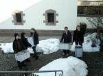Das Archiv-Material zieht um vom Archiv der Gemeinde Bisingen ind Archiv des Heimatmuseums
