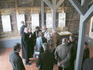 19.11.2006 - kleiner Stehempfang mit Isak Wasserstein