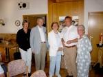 Isak Wasserstein in Bisingen  nach der lesung am 20. Juni 2005