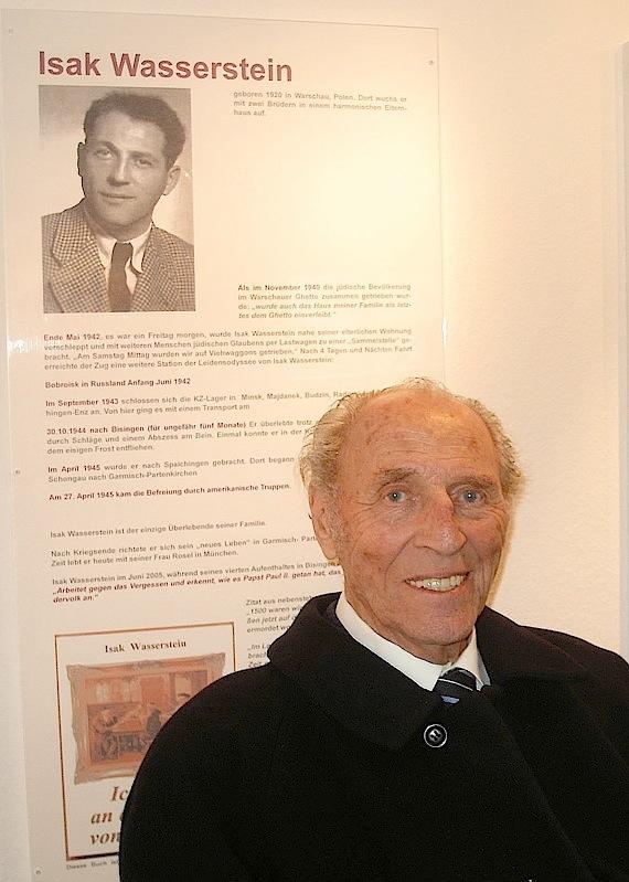 Nachruf zum Tod von Isak Wasserstein - München am 05. Januar 2012 (2/6)