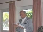 Isak Wasserstein in Bisingen-Lesung  am 20. Juni 2005