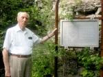 Isak Wasserstein and der Ölschieferabbaukante Juni 2005