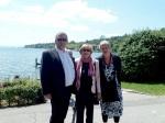Rosel Waserstein mit Bürgermeister Krüger und Hanne G.