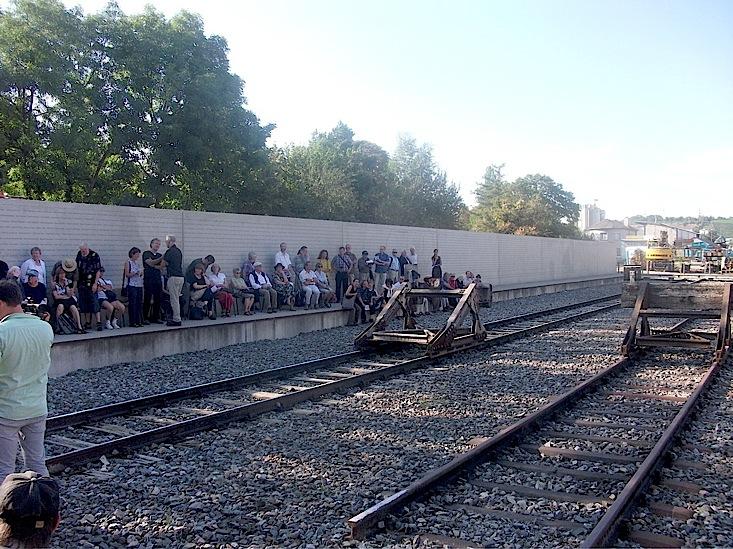 70. Jahrestag der Deportation vom Stuttgarter Nordbahnhof nach Theresienstadt (6/6)