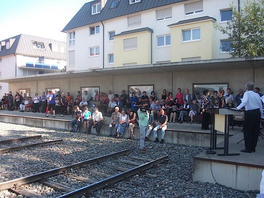 70. Jahrestag der Deportation vom Stuttgarter Nordbahnhof nach Theresienstadt (5/6)