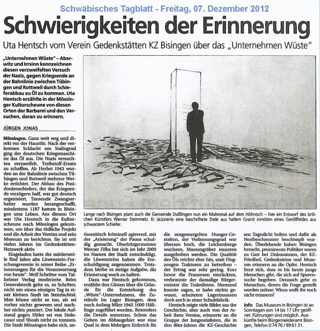 07.12.2012 Schwäb.Tagblatt:Mössingen