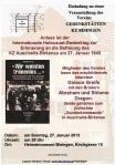 27. Januar 2013-Flyer