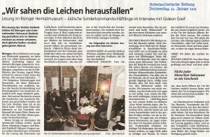 Hohenzollerische Zeitung 31. 01.2013