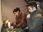27.01.2013 Schüler zünden Kerzen