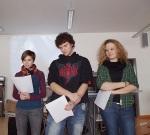 27.01.2013 -Verena G., Fabian Sch.,  Julia L.