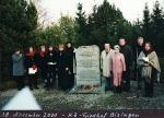 Otto und Eve 2001 -7 KZ-Friedhof Bisingen