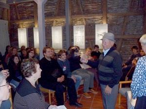 Gedenkstätten KZ Bisngen 10jähriges Stamberg 29.11.2013 abends -4