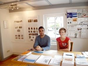 Junge Bisinger teilen sich die Aufsicht im Heimatmuseum Bisingen -1