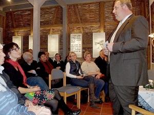 Verein Gedenkstäten KZ Bisingen 10jähriges Abendveranstaltung 28.11.2013 mit SR. Silvia Pauli -1