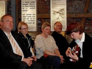 Verein Gedenkstätten KZ Bisingen 10jähriges Abendveranstaltung 28.11.2013 jannik Bitzer -3