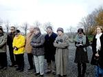 Verein Gedenkstätten KZ Bisingen 10jähriges KZ-Friedhof Bisingen 1.12.2013 Besucher -12