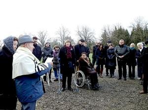 Verein Gedenkstätten KZ Bisingen 10jähriges KZ_Friedhof Bisingen -Gäste -3