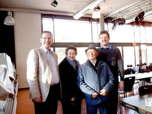 Verein gedenkstätten KZ Bisingen 10jähriges S.Stamberg im Gymnasium Ebingen Dieter:Stambergs und  27.11.2013 -5
