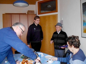 Verein gedenkstätten KZ Bisingen 10jähriges  Waldorfschule Frommern Zeitzeuge S. Stamberg -19