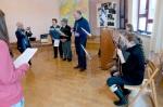 Verein Gedenkstätten KZ Bisingen 10jähriges Waldorfschule Frommern Zeitzeuge S. Stamberg 28-11.2013 -1