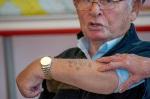 Verein Gedenkstätten KZ Bisingen 10jähriges Waldorfschule Frommern Zeitzeuge S. Stamberg 28.11.2013 -13