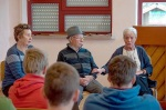 Verein Gedenkstätten KZ Bisingen 10jähriges Waldorfschule Frommern Zeitzeuge S. Stamberg 28.11.2013 -8