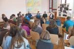 Verein Gedenkstätten KZ Bisingen 10j#hriges Waldorfschule Frommern Zeitzeuge S. Stamberg 28.11.2013 -4