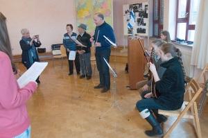 Verein Gedenkstätten KZ Bisingen 19jähriges S. Stamberg in der Waldorfschule Frommern 28.11.2013 -1jpg