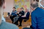 Verein Gedenkstätten KZ Bisngen 10jähriges Waldorfschule Frommern Zeitzeuge S. Stamberg 28.11.2013 -11