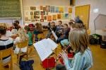 Verein Gedenkstätten KZ Bisngen 10jähriges Waldorfschule Frommern Zeitzeuge S. Stamberg 28.11.2013 -18