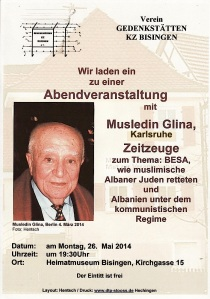 Musledin Glina am 26-5-2014