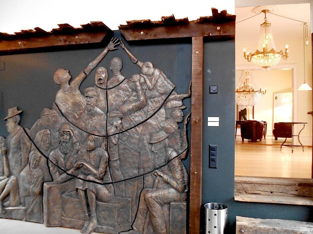 """Besuch der """"Gedenkstätte für Flüchtlinge"""" in Riehen, Schweiz  (6/6)"""