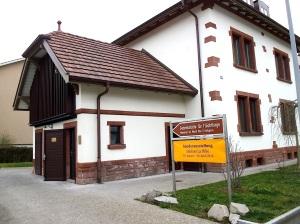 Riehen 1-3-2014 Ausstellung für Flüchtlinge