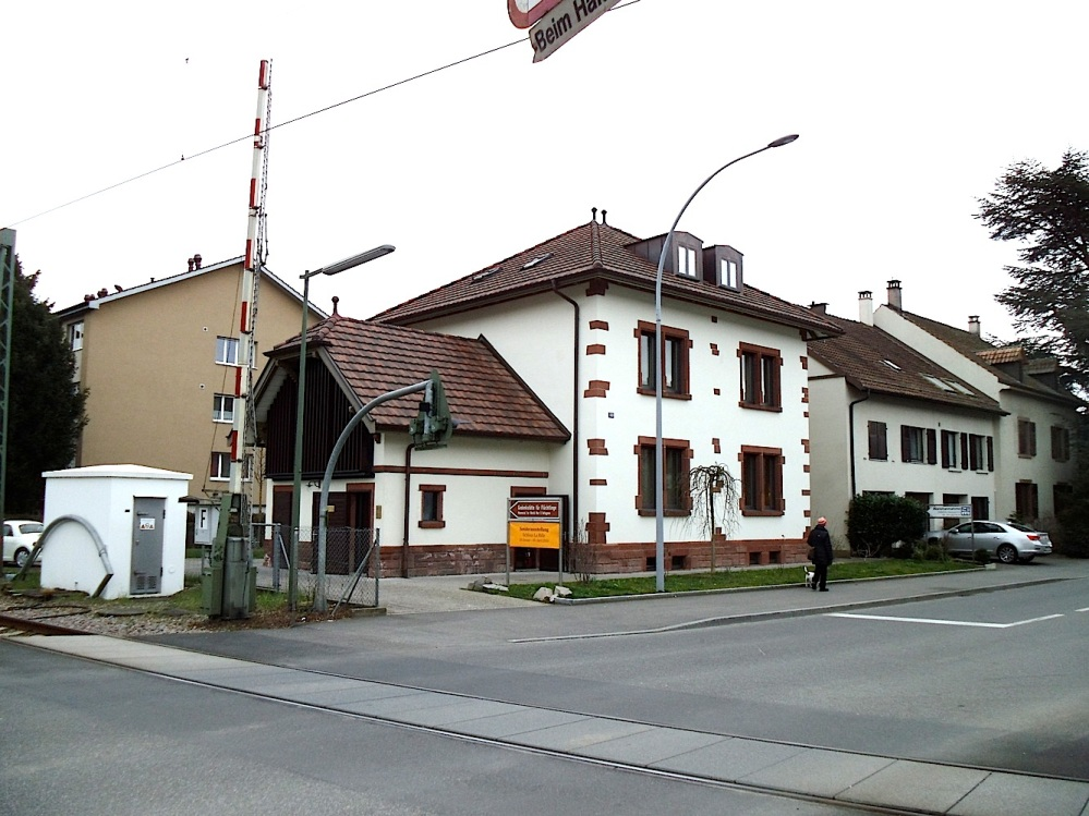 """Besuch der """"Gedenkstätte für Flüchtlinge"""" in Riehen, Schweiz  (2/6)"""