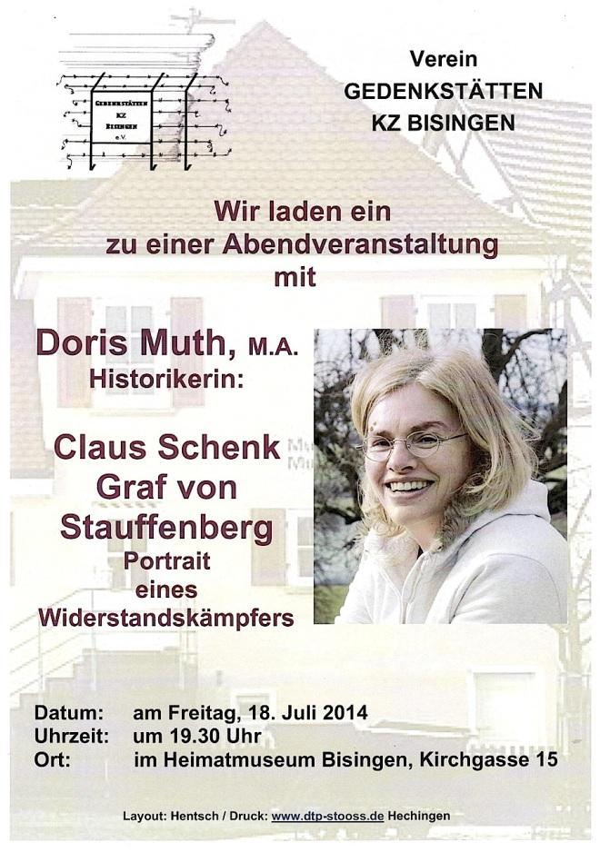 18.7. 2014 Veranstaltung mit Dotos Muth
