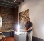 Doris Muth im Heimatmuseum Bisingen 18.7.2014 -1