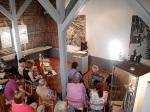 Doris Muth im Heimatmuseum Bisingen 18.7.2014 -3