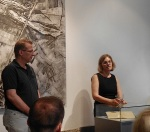 Doris Muth im Heimatmuseum Bisingen 18.7.2014 -4jpg