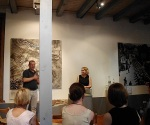 Doris Muth im Heimatmuseum Bisingen 18.7.2014 -5
