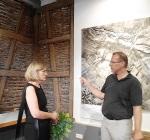 Doris Muth im Heimatmuseum Bisingen 18.7.2014 -6