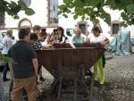 Gedenkstätten KZ Bisingen Lerngang BVE Hechingen 7. 7. 2014  vor dem Heimatmusuem
