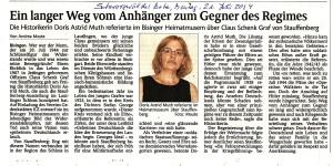 SchwaBo 21. Juli 2014 - Doris Muth