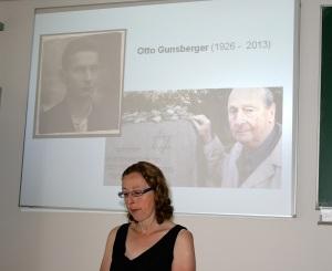 Techn. Gymnasium Balingen, 18.Juli 2014 Besuch der Familie von Otto Gunsberger, ehemals KZ Bisinsgen -3