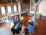 Schüler-AG Realschule Bisingen 2014 im Heimatmuseum Bisingen
