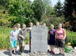 Schüler-AG Realschule Bisingen 2014 KZ-Friedhof  Bisingen-10
