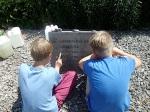 Schüler-AG Realschule Bisingen 2014 Kz-Friedhof Bisingen -5