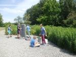 Schüler-AG Realschule Bisingen 2014 KZ-Friedhof Bisingen -7
