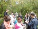 Geschichtsehrpfad KZ Bisingen - Schüleraktion 15.10. 2014 -7